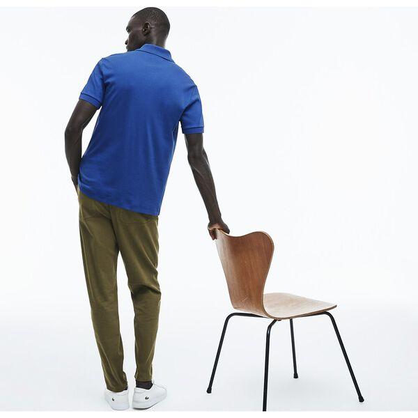 Men's Regular Fit Pima Cotton Polo, BLUE, hi-res