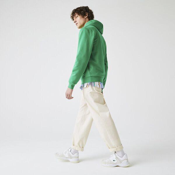 Men's Lightweight Stretch Poplin Chino Pants, CLAIR, hi-res