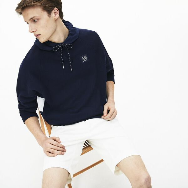 Men's Slim Stretch Bermuda Short, WHITE, hi-res