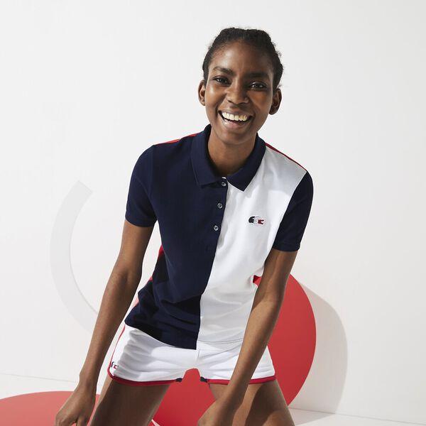 Women's SPORT French Sporting Spirit Two-Tone Polo