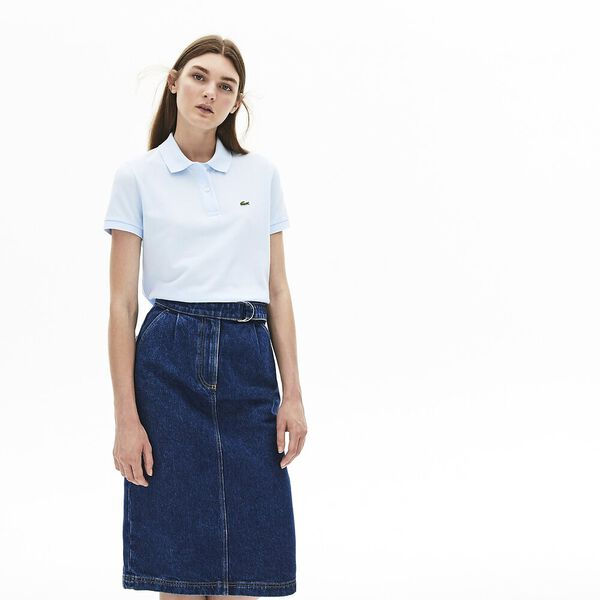 Women's 2 Button Relaxed Fit Polo, RILL, hi-res