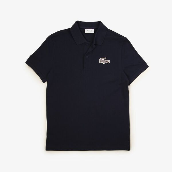 Men's Fall Countryside Slim Fit Polo, NAVY BLUE, hi-res