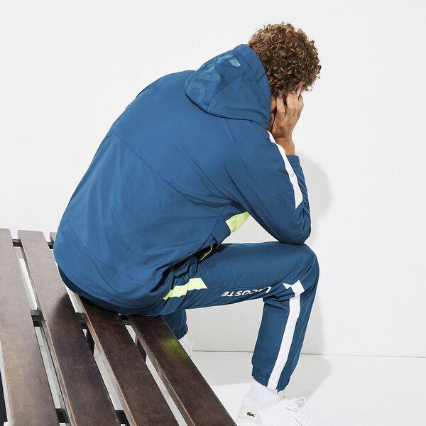 Men's Lifestyle Hooded Anorak, ILLUMINATION/ONAGRE-WHITE, hi-res
