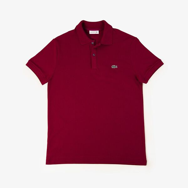 Men's Innovation Slim Fit Polo, BORDEAUX, hi-res