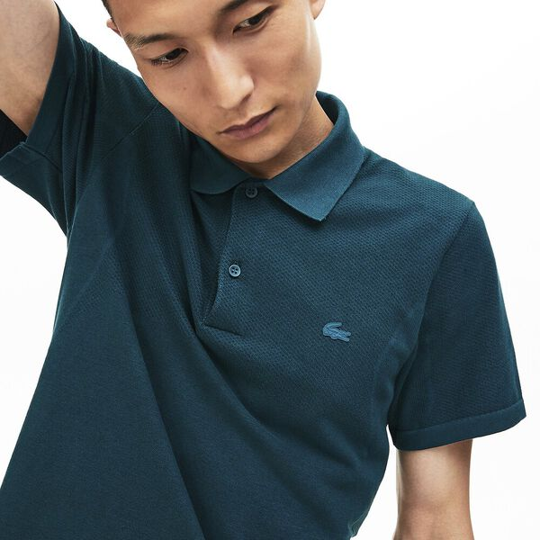 Men's Seamless Side Panel Slim Fit Polo, WHEELWRIGHT, hi-res