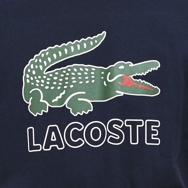 Men's Lacoste Croc Tee, NAVY BLUE, hi-res