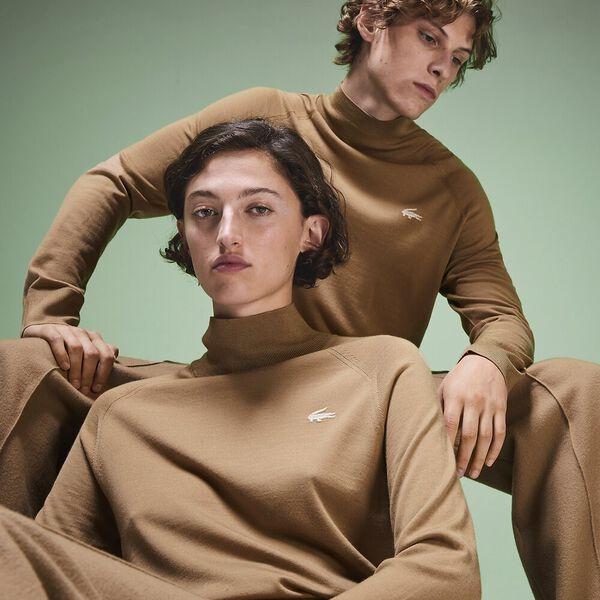 Unisex Fashion Show Iconics Polo Neck Knit