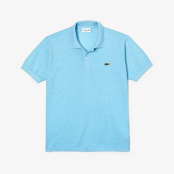 Men's 2 Ply Classic Fit Polo, ANTARCTIC BLUE, hi-res