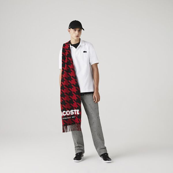 Unisex Lacoste X Mastermind JAPAN Classic Fit Polo, WHITE, hi-res