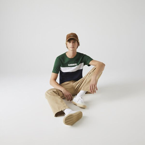 Men's Colour Block T-Shirt