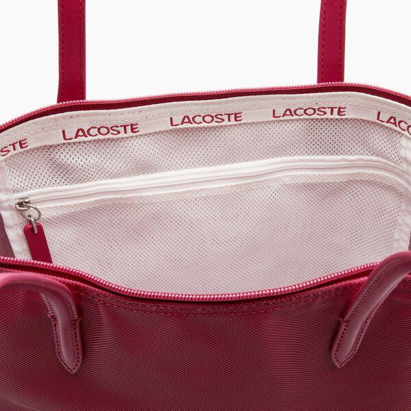 Women's L.12.12 Vertical Shopping Bag, SANGRIA, hi-res