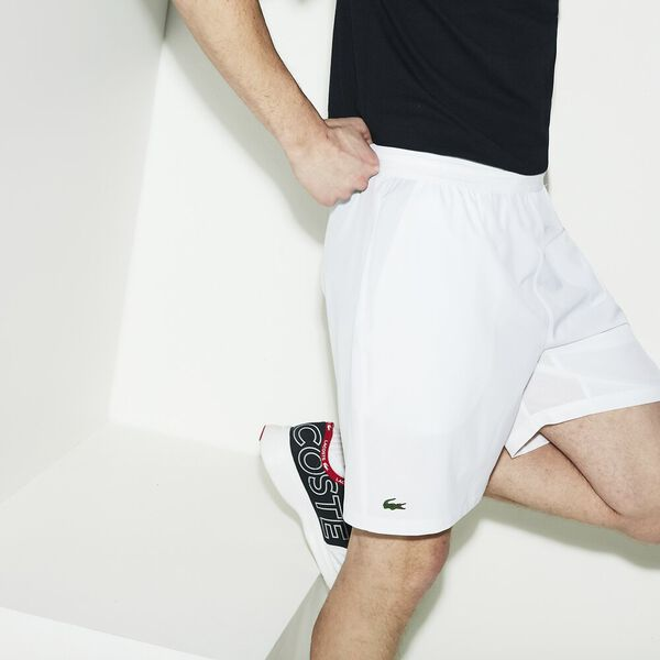 MEN'S BASIC TRAINING SHORT, WHITE, hi-res