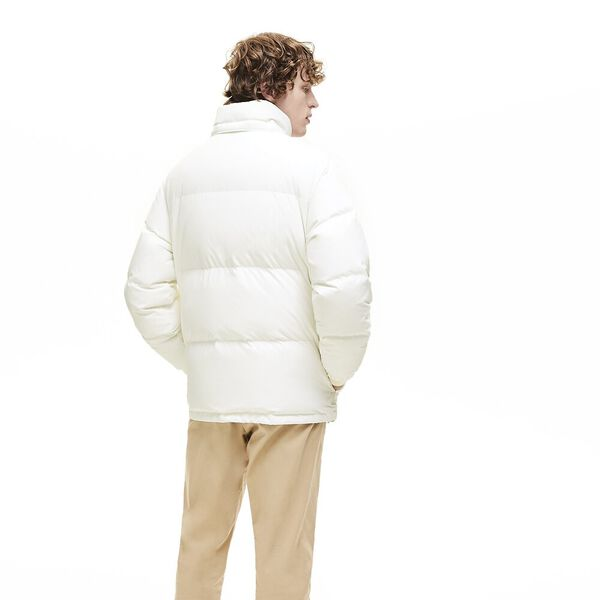 Men's Chic Padded Down Jacket, FLOUR, hi-res