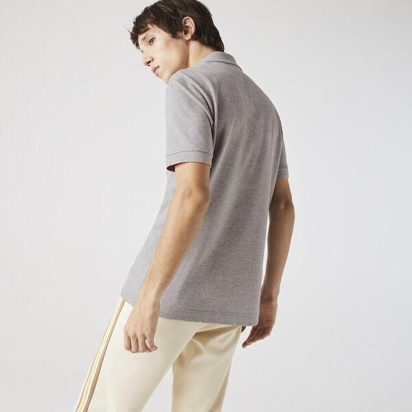 Men's Loop Polo, HEATHER GREY, hi-res