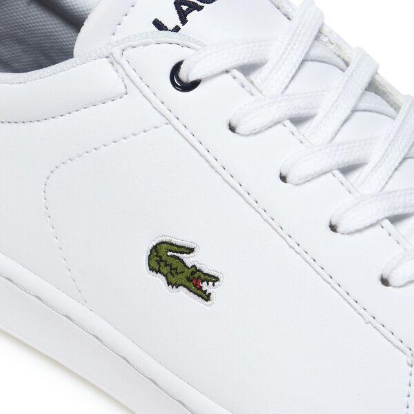 Kids' Carnaby Evo Bl 1 Sneaker, WHITE/NAVY, hi-res