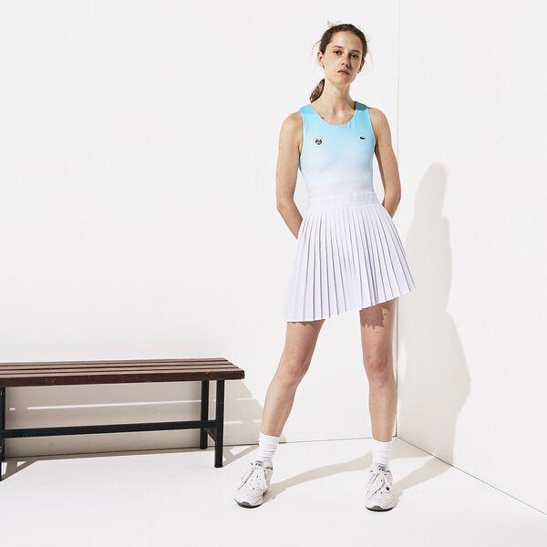 Women's Lacoste SPORT Roland Garros Asymmetrical Pleated Dress