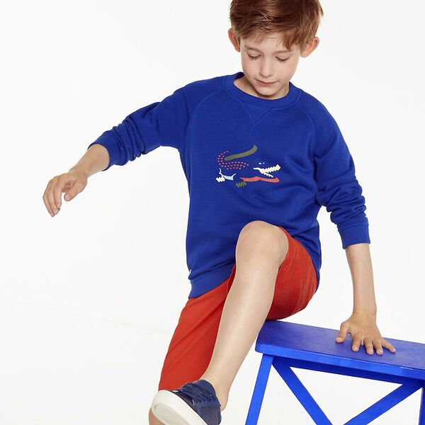 BOYS 3D CROC SWEAT, CAPTAIN, hi-res