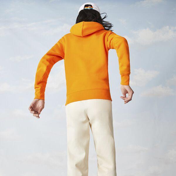 Unisex Lacoste x Polaroid Cotton Fleece Sweatshirt, ORPIMENT, hi-res