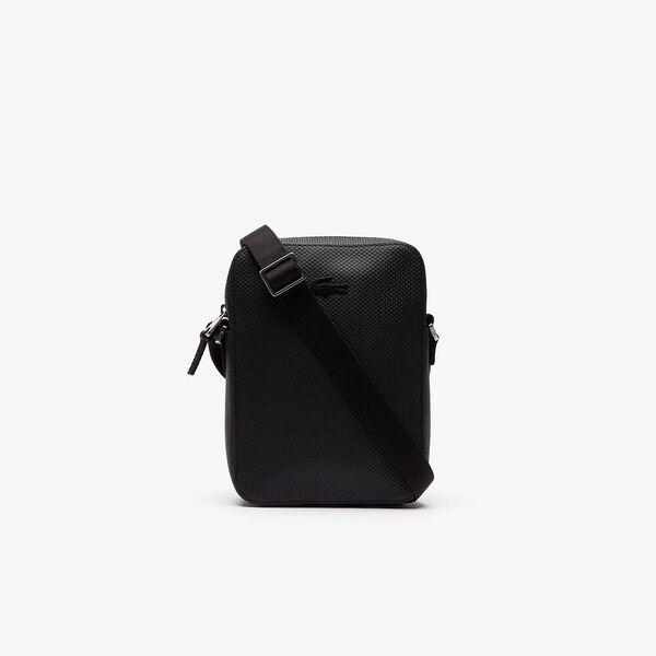 Men's Chantaco Soft Leather Vertical Zip Bag