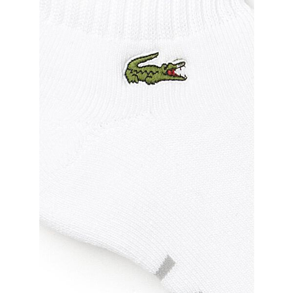 Padded Sport Ankle Socks, WHITE/SILVER CHINE, hi-res