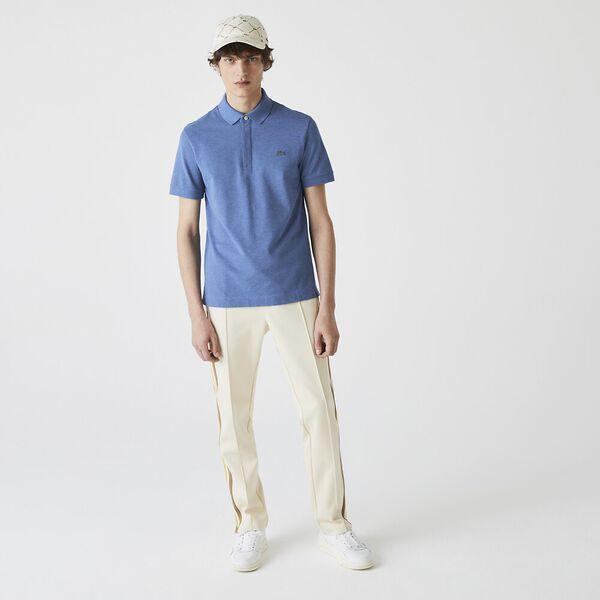 Men's Paris Polo, HEATHER OCTOPUS CHINE, hi-res