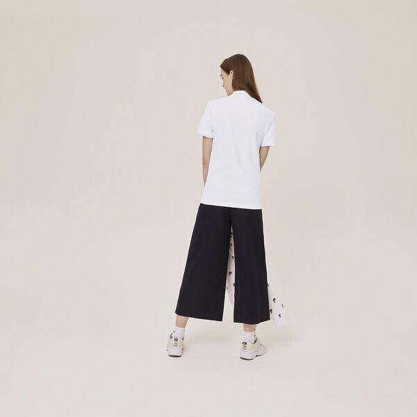 Unisex Lacoste x Jean-Michel Tixier Print Classic Fit Polo Shirt, WHITE/CICER, hi-res
