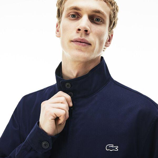 Men's Classic Twill Harrington Jacket