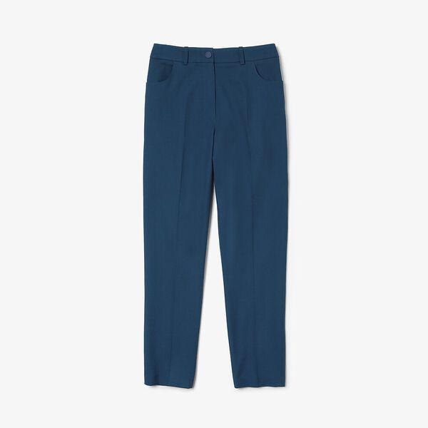Women's Casual Elegance Cotton Cropped Pant, RAFFIA MATTING, hi-res