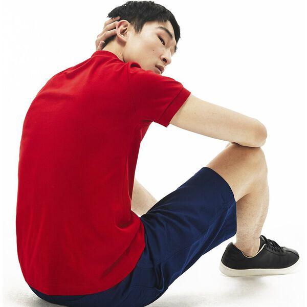 Men's Regular Fit Pima Cotton Polo, RED, hi-res