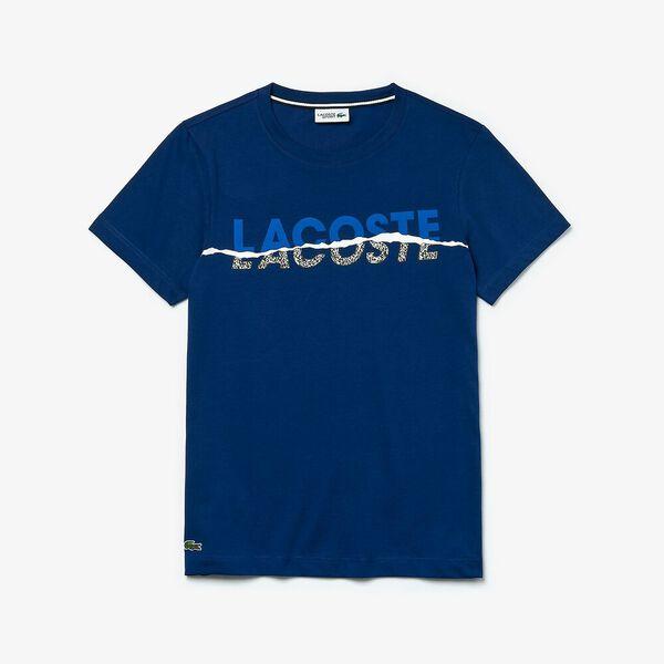 Men's SPORT Crew Neck Graphic T-shirt, METHYLENE/OBSCURITE-NOIR-BLANC, hi-res