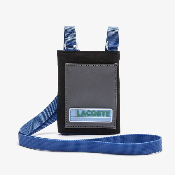 Men's LCST Colorblocked Mini Necklace Wallet
