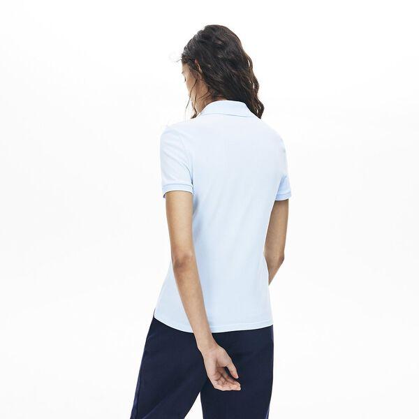 Women's 5 Button Slim Stretch Core Polo, RILL, hi-res