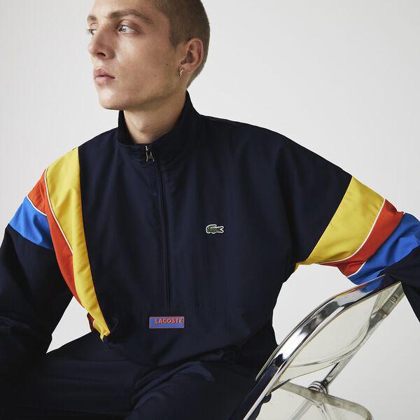 Men's SPORT Zip Neck Lightweight Water-Resistant Jacket