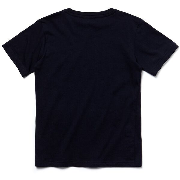 UNISEX KIDS BASIC CREW NECK TEE, NAVY BLUE, hi-res