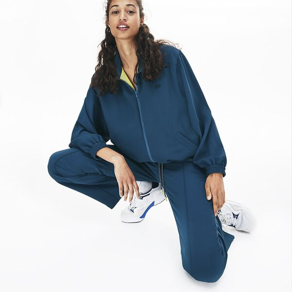 Women's Lacoste Motion Twill Pant, WHEELWRIGHT, hi-res