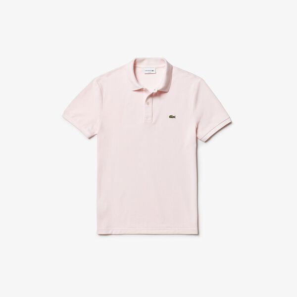 Men's Slim Fit Polo, FLAMINGO, hi-res