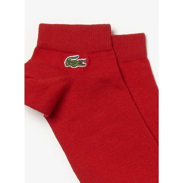 3 Pack Sport Ankle Socks, RED/BLACK-WHITE, hi-res