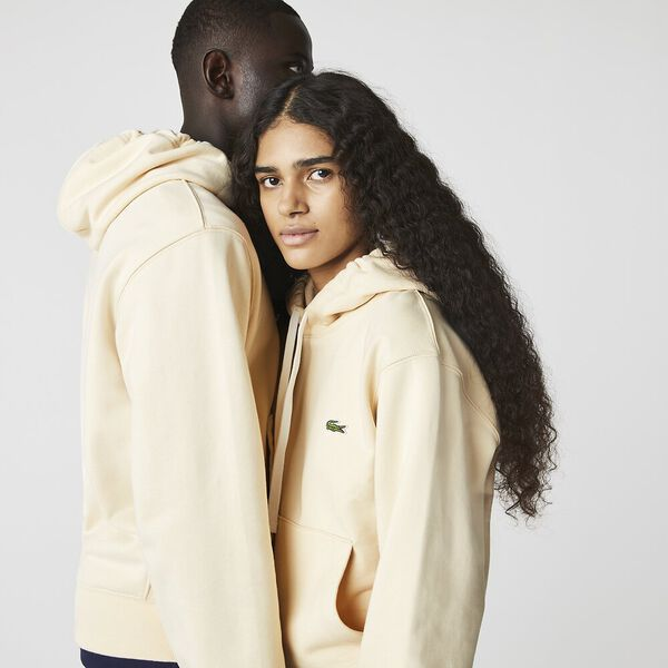 Unisex Hooded Organic Cotton Fleece Sweatshirt