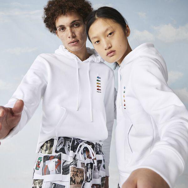 Unisex Lacoste x Polaroid Cotton Fleece Sweatshirt