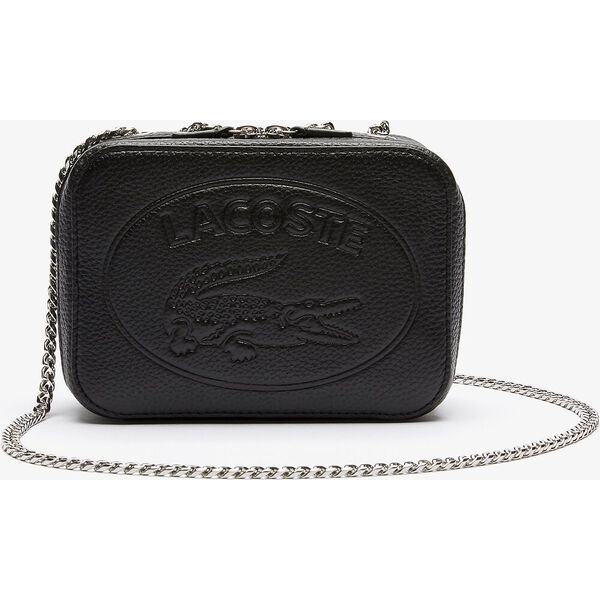 Women's Croco Crew Crossover With Chain