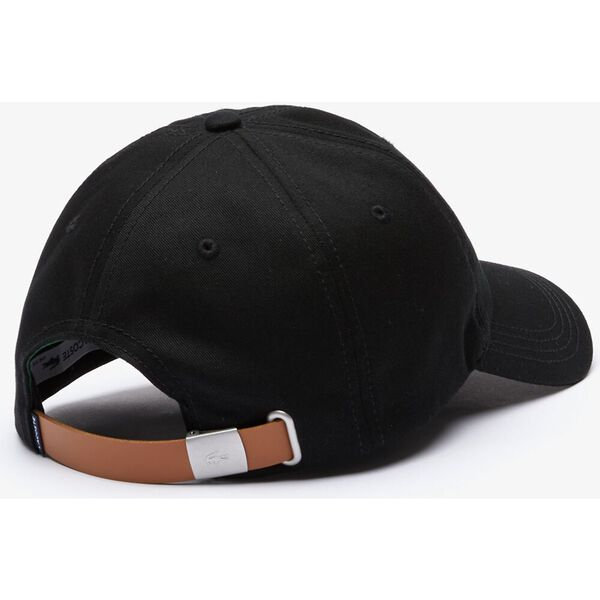 Contrast Strap And Crocodile Cap, BLACK, hi-res