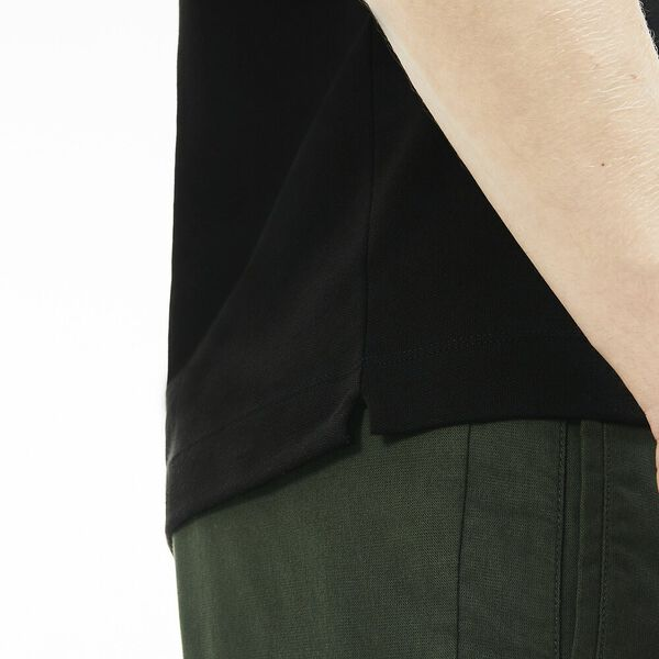 Men's Paris Stretch Polo, BLACK, hi-res