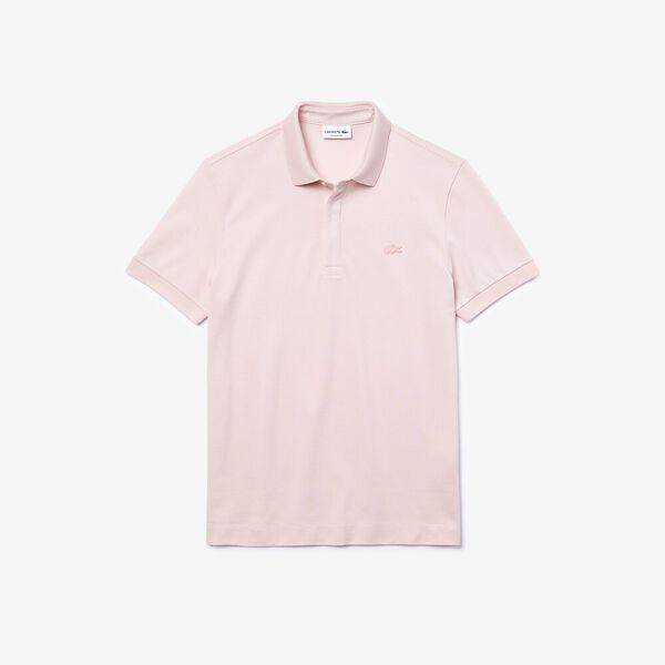 Men's Paris Polo, LIGHT PINK, hi-res
