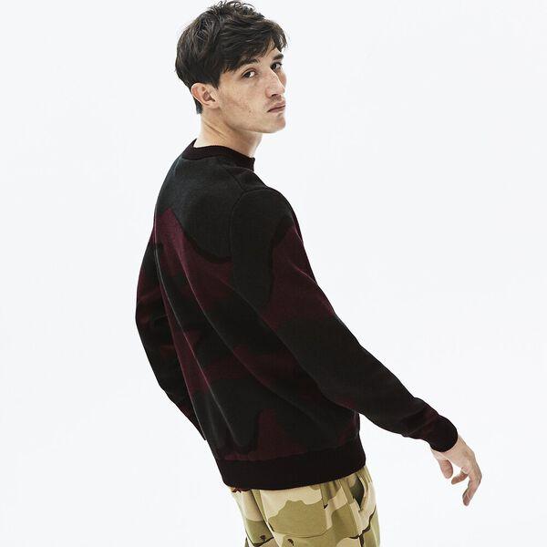 Men's L!ve Camo Cotton Knit, SINOPLE/MULTICOLOUR, hi-res