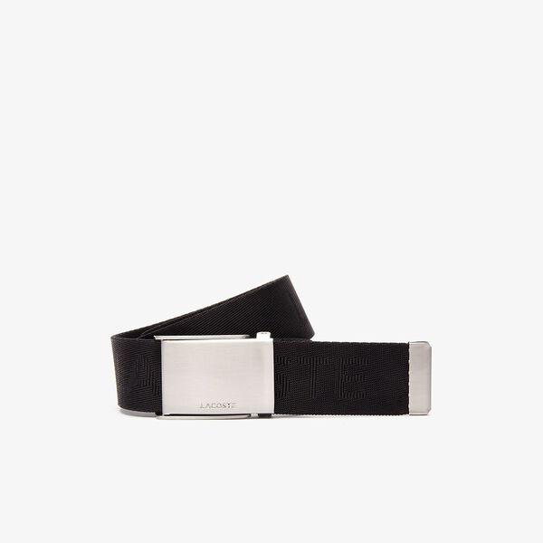 Men's Embossed Woven Belt
