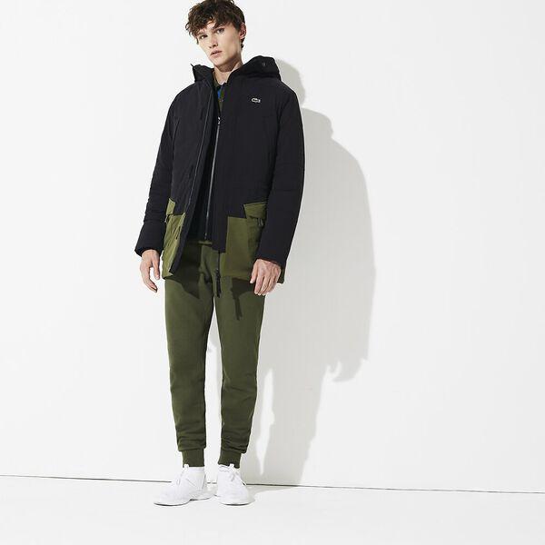 Men's Lifestyle Plain Weave Parka