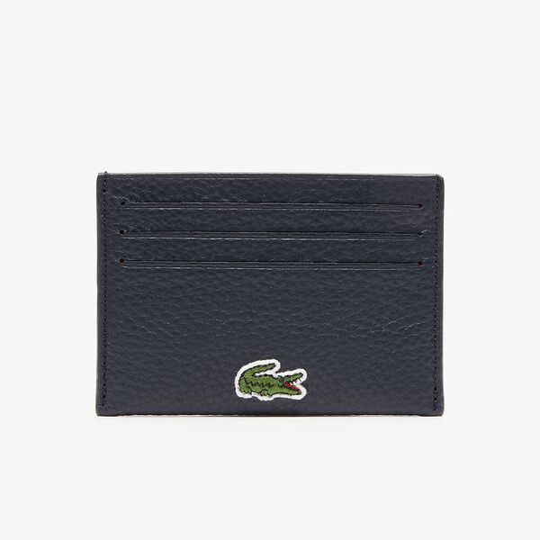 WOMEN'S CROCO CREW LEATHER CARD HOLDER AND COIN POUCH GIFT SET