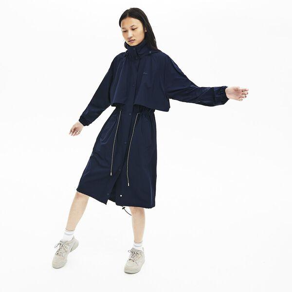 Women's Lacoste Motion Parka, NAVY BLUE, hi-res