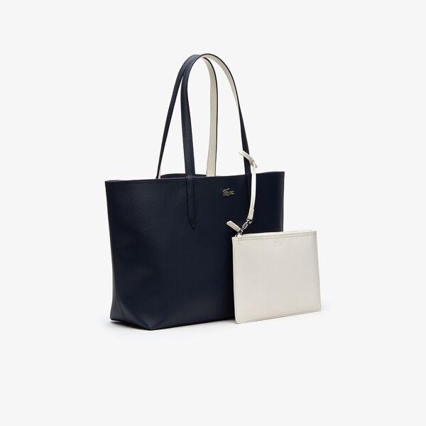 Women's Anna Shopping Bag, DARK SAPPHIRE MARSHMALLOW, hi-res