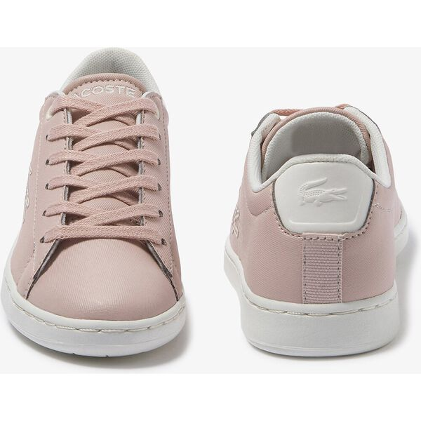 Children's Carnaby Evo Contrast-colour Synthetic Trainers, NAT/OFF WHITE, hi-res